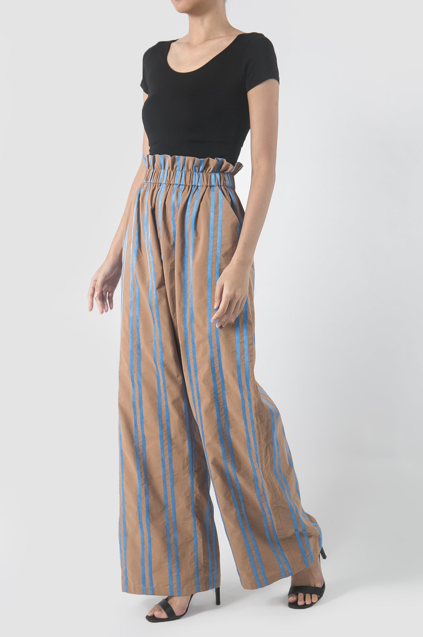 Sky Blue Stripes Diego Pants
