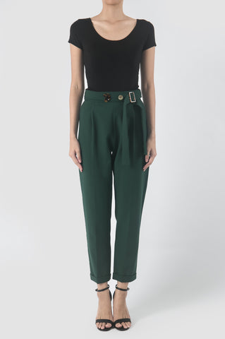 Kelp Green Tissue Pants