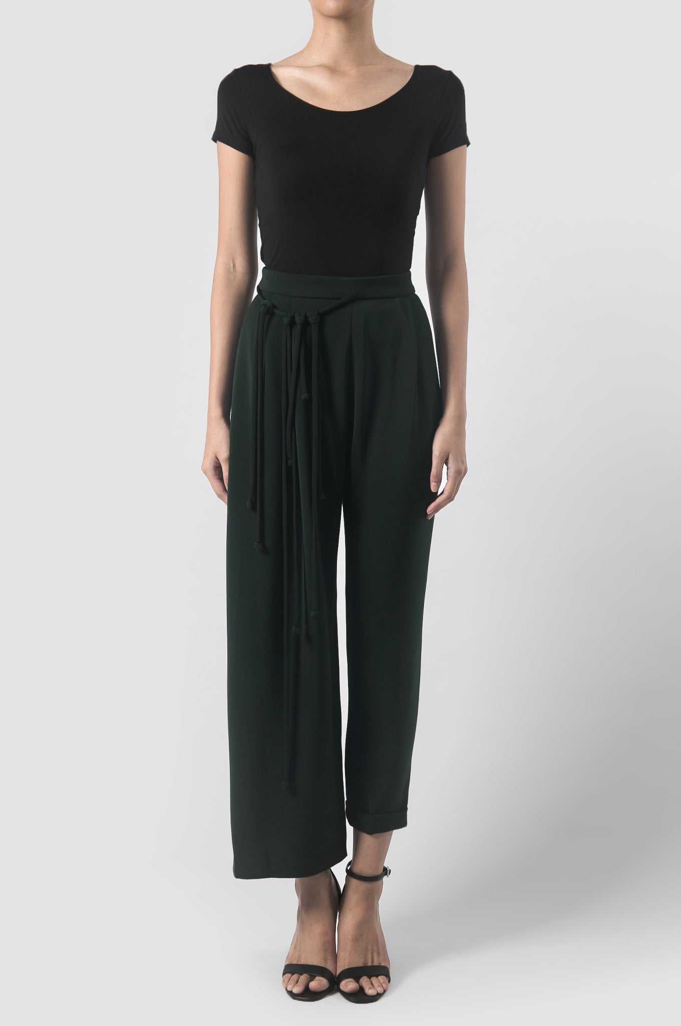 Dark Green Stratum Pants