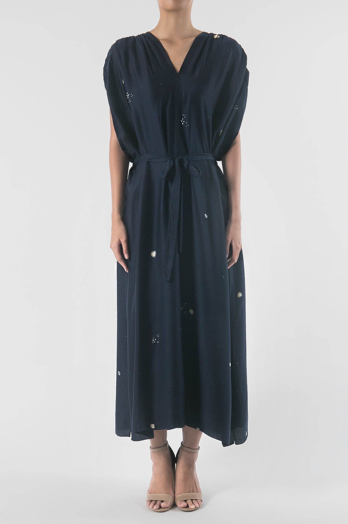 Seribu Bunga Midnight Goddess Dress