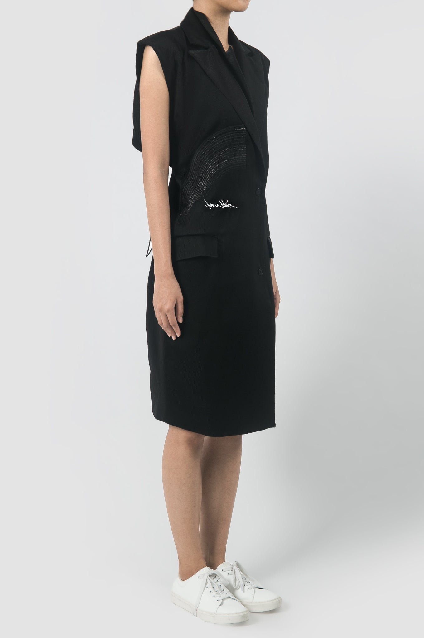 Tailored Suit Dress