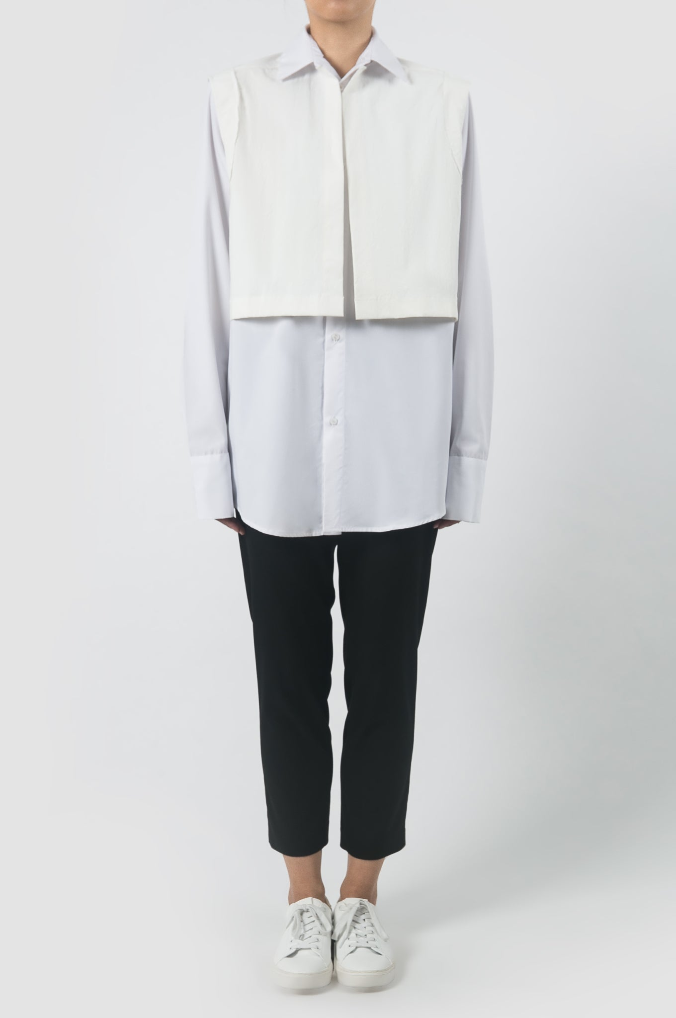 Tailored Vest Shirt