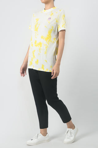 Yellow Sun Embroidered T-Shirt