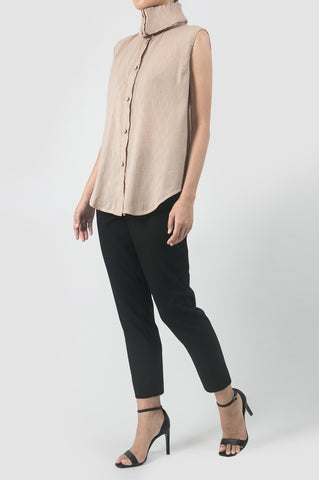Mauve Sleeveless Dara Top