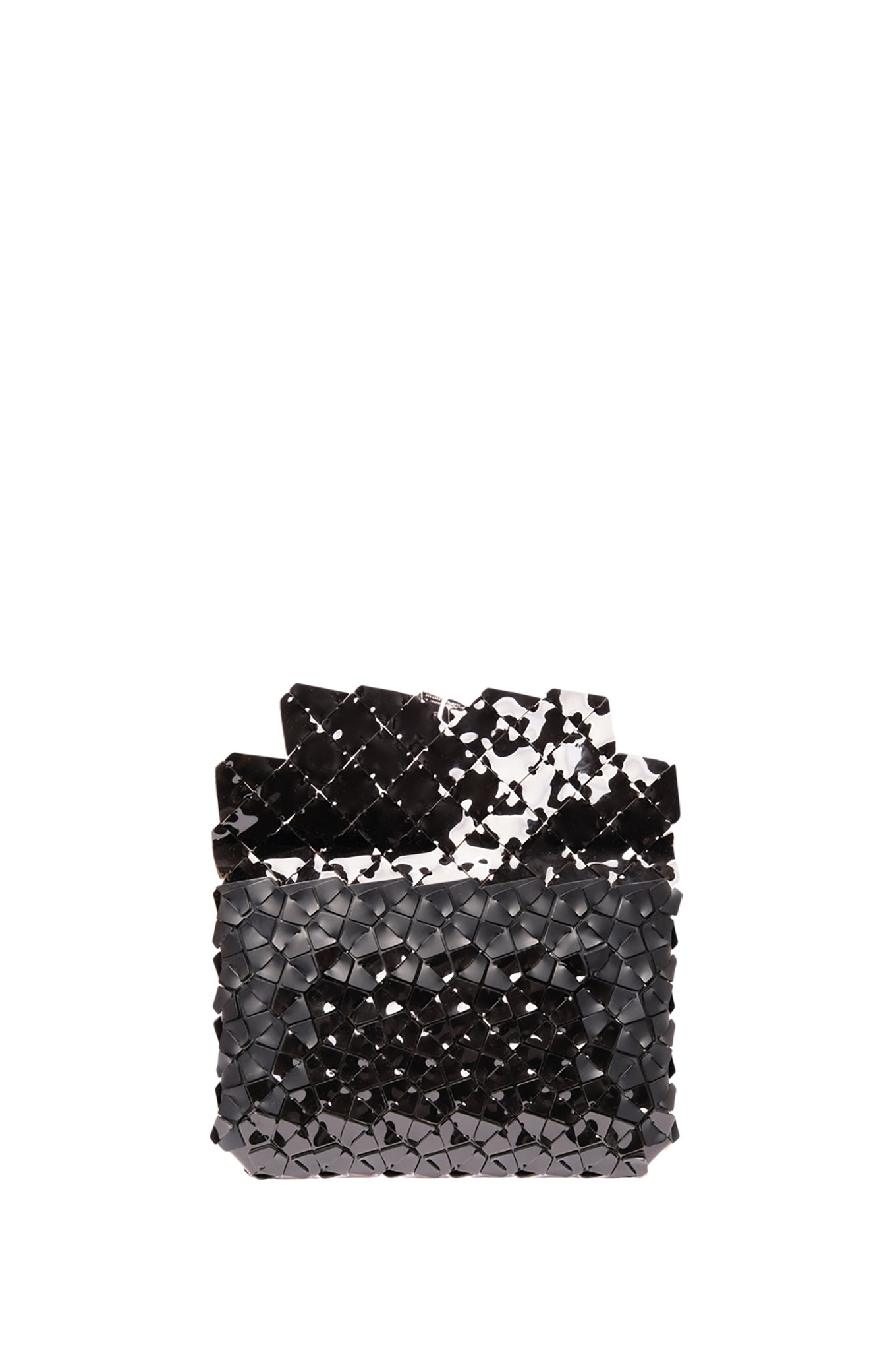 Medium Black Fragment Clutch
