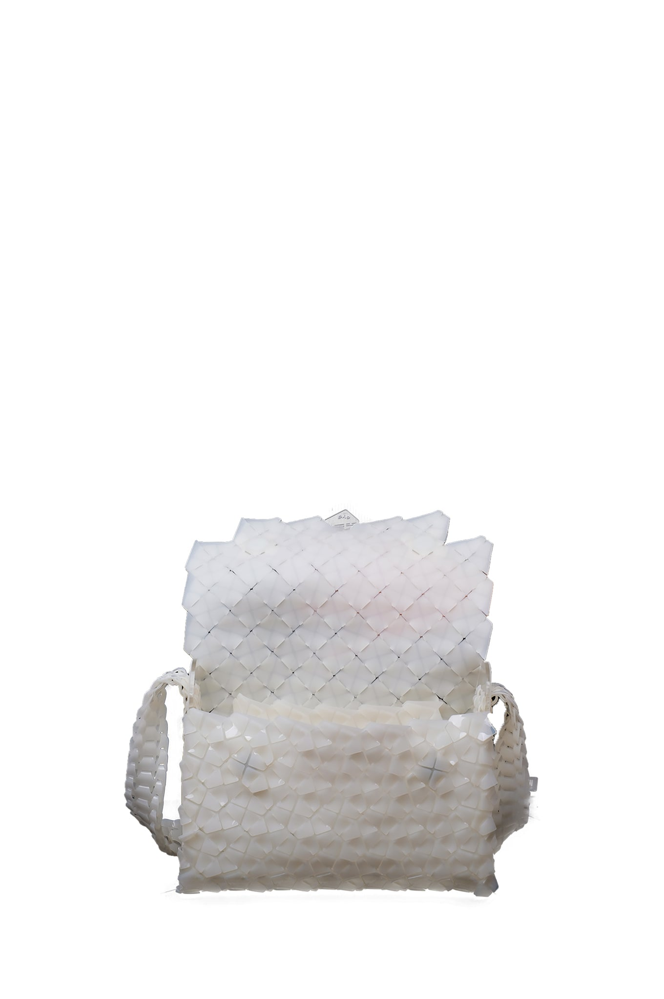 White Medium Mailbox Bag