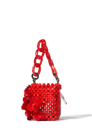 Red Jardin Tote