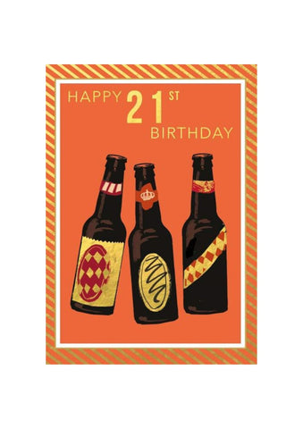 Hammond Gower | Beers 21st Birthday