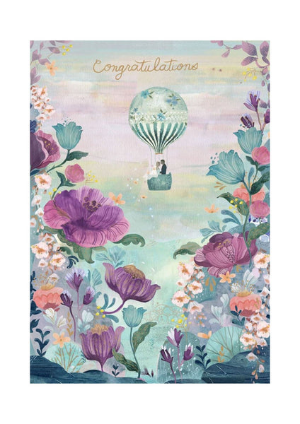 Wedding Card | Ballooning