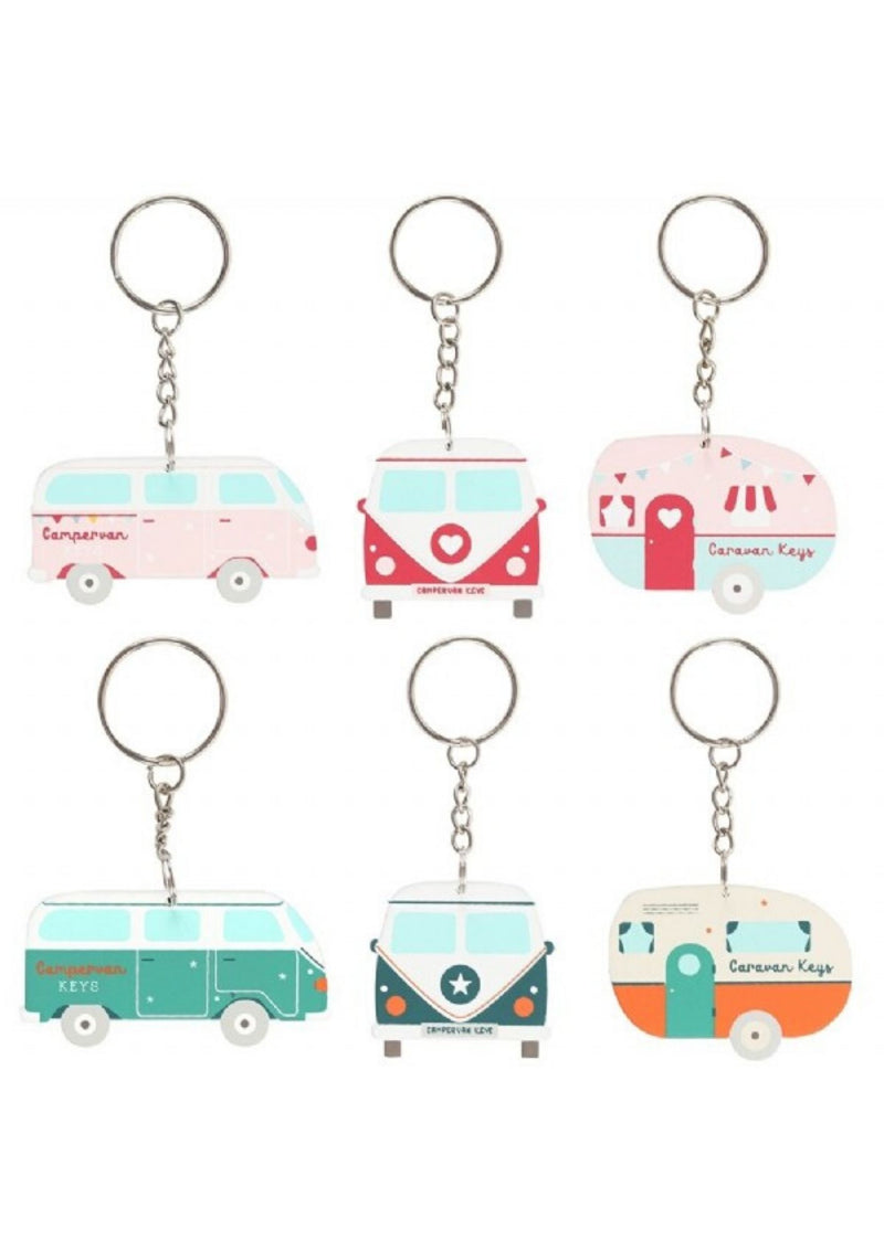 Camper Key Ring