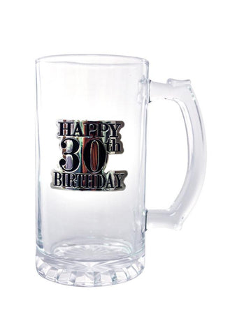 Badge Straight Stein | 30th