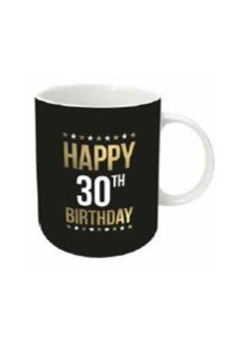 Gold Foil Birthday Mug | 30th