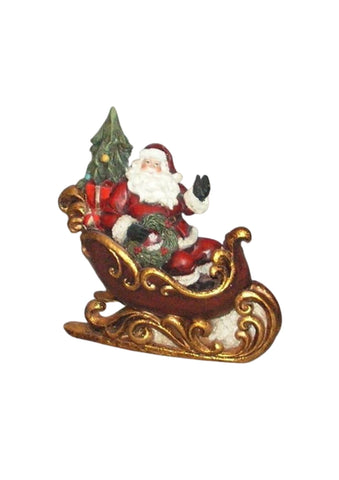 Santa on a Sleigh