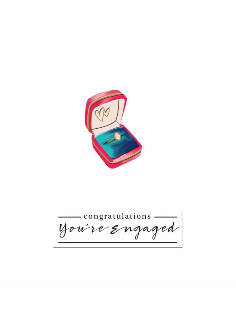 Engagement Card | Engagement Ring