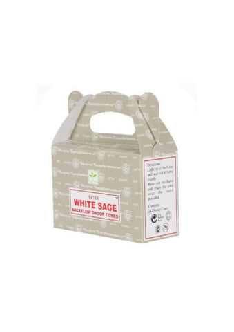 Backflow Incense | White Sage