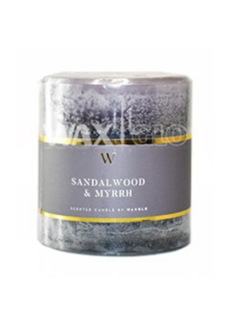 Sandalwood & Myrrh | 70x75mm
