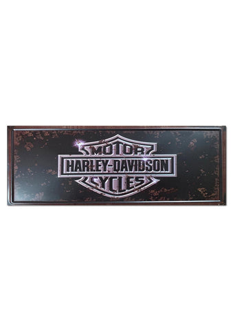 harley davidson motorcycles sign
