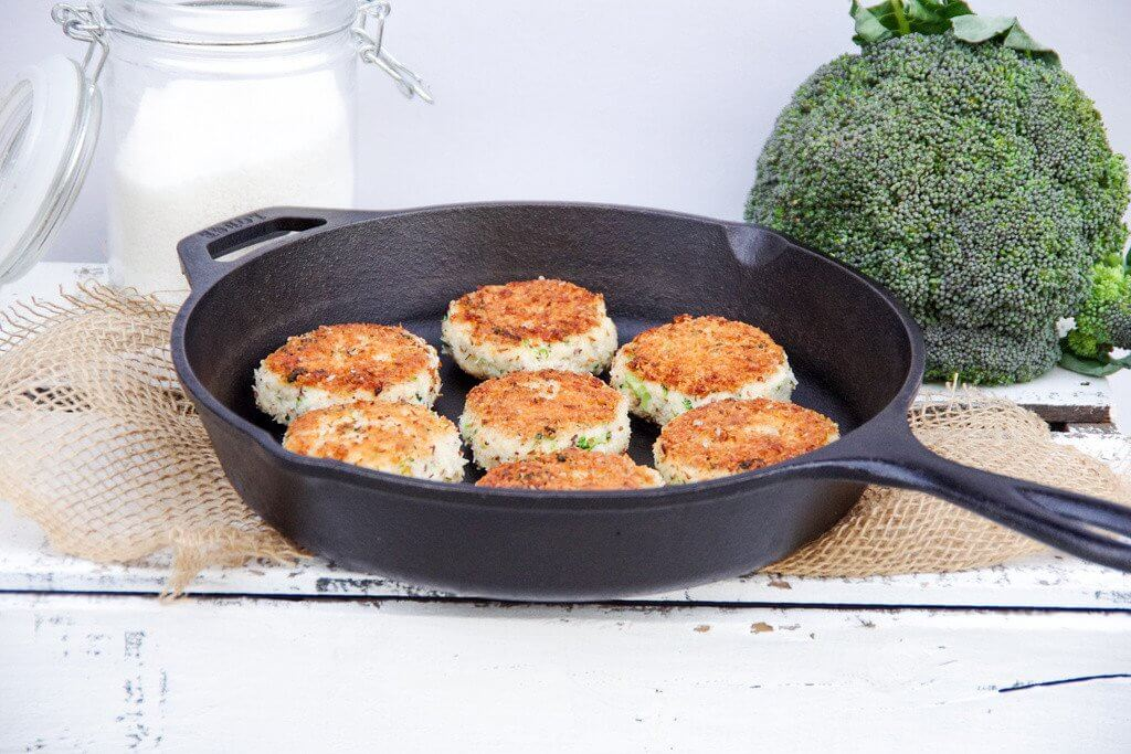 Chicken and Broccoli Lunch Box Patties