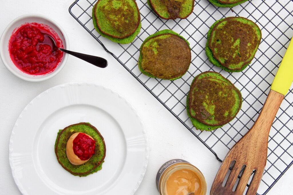 Green Monster Pikelets