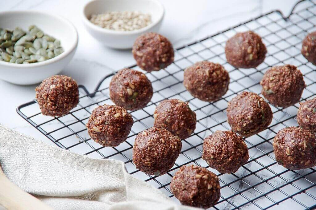 Sunflower Protein Balls