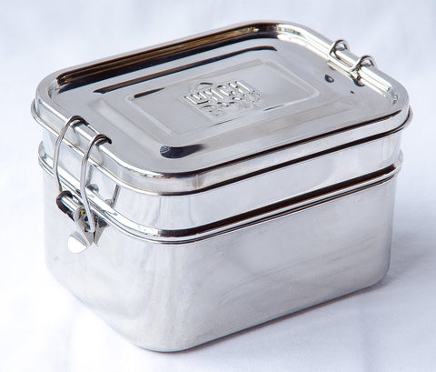 Stainless Steel Lunch Box Leakproof Bento Lunchbox Adult
