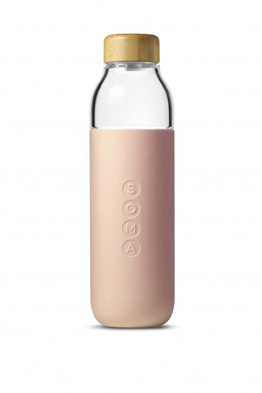 SOMA Water Bottle 500ml Blush
