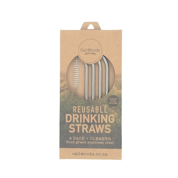 Caliwoods Bent Drinking Straws