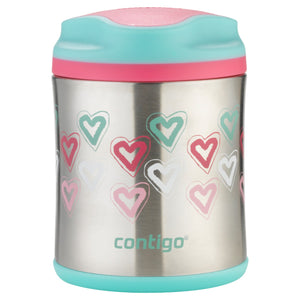 Contigo KIDS - Food Jar - Hearts, 300ml