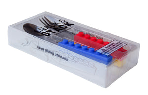 Snack & Stack Cutlery - Lunch Box inc - 1