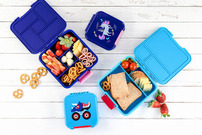 Little Lunch Box Co - Bento Three - Monster Truck