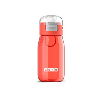 Zoku Kids Gulp Bottle 465ml Red