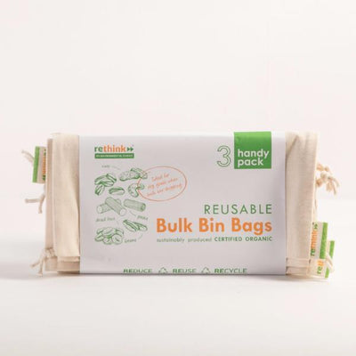 Rethink Bulk Bin Bags - set of 3