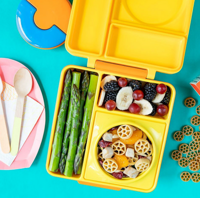 OmieBox Sunshine Yellow Bento Lunch Box