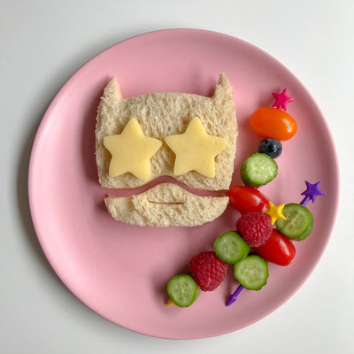 Sandwich Cutter Shapes - Lunch Punch Superhero