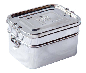 Double Decker Stainless Steel Bento Lunch Box
