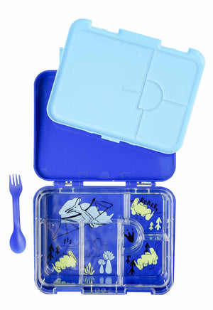 Dinosaur Kiwibox 2.0 Bento Lunchbox For Kids