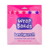 Lunch Punch Pink Wrap Bands - set of 5