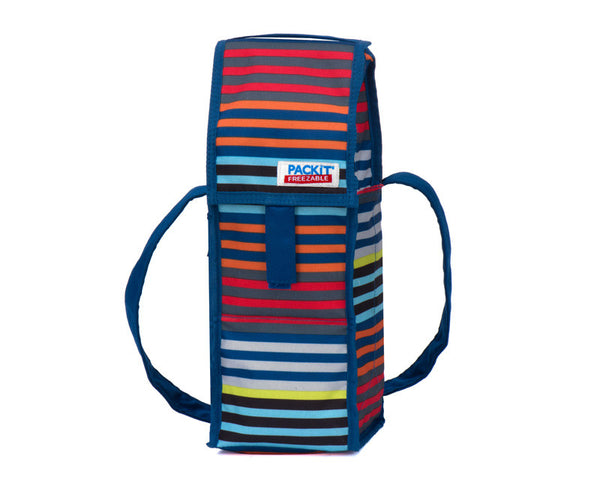 Wine Cooler - Freezable, Packit - Cali Stripes