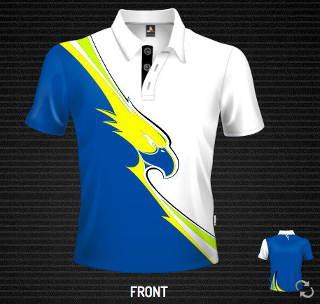 Moto Eagle Bright Polo - Short Sleeve