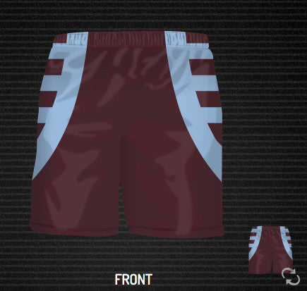 Diagonal Soccer Short