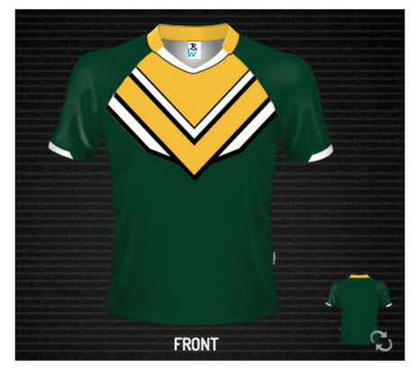 Eagles Rugby Jersey