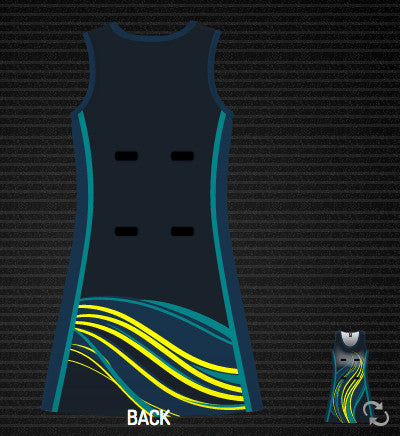 Feather Netball Dress