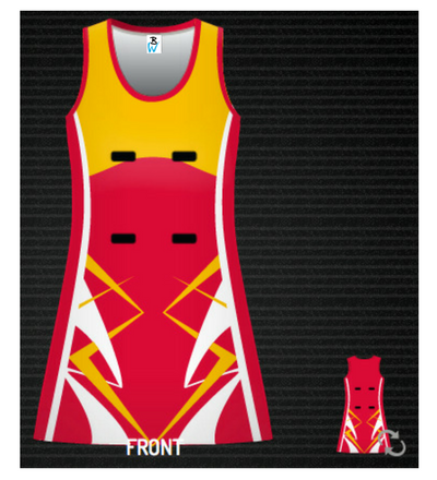 Flash Netball Dress
