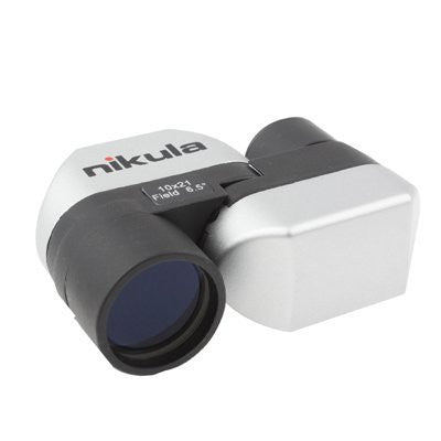 Compact Monocular Telescope 10 x 21mm with 90 Degree Rotation Periscope- Ideal for bird watcher
