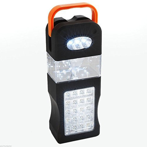 Camping Lamp - Compact LED battery light - Portable Battery Emergency Light - Ideal Work, garage or camping Lantern