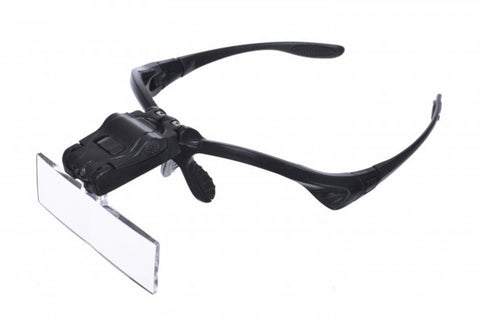 Spectacles-style Headband magnifier 1.5X 2X 2.5X 3X 3.5X lenses