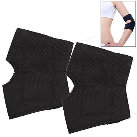 Elbow Support - Magnetic - fits around arm for pain relief and to relieve soreness and stiffness - magnet and heat therapy