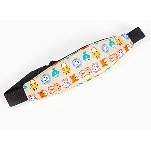 Children's Car Head Support Belt - Now children can sleep in the car without bad posture of the neck or head - Suitable for any baby seat or car seat