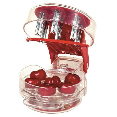 Cherry Pitter - Up to 6 Cherries or Olives at a time