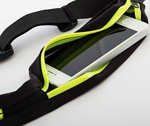 Running Belt - Universal Mobile Phone Pouch for Runners - Waist Pack Phone Holder - Waterproof